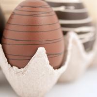 Oeufs en chocolat pour Pâques