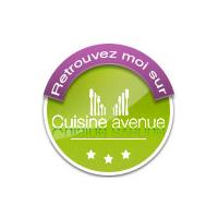 Badge Cuisine Avenue rond