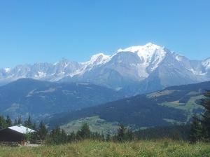 Mont Blanc en été